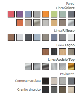 Hi-Flex2 - Colori e finiture