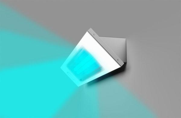 Sanificatore Cabine UV-C – Lampada in funzione