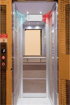 purificatore d'aria ascensore